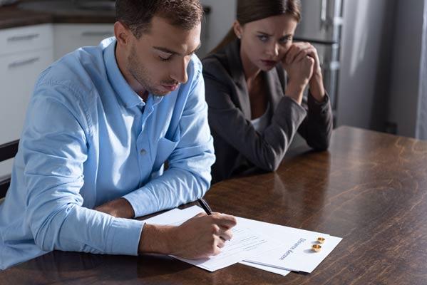Divorcios o separaciones de mutuo acuerdo
